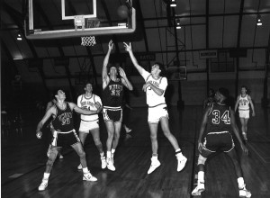 1988-89 - MBball vs. Union