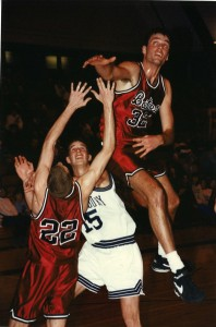 1993-94 - MBball vs. Bates