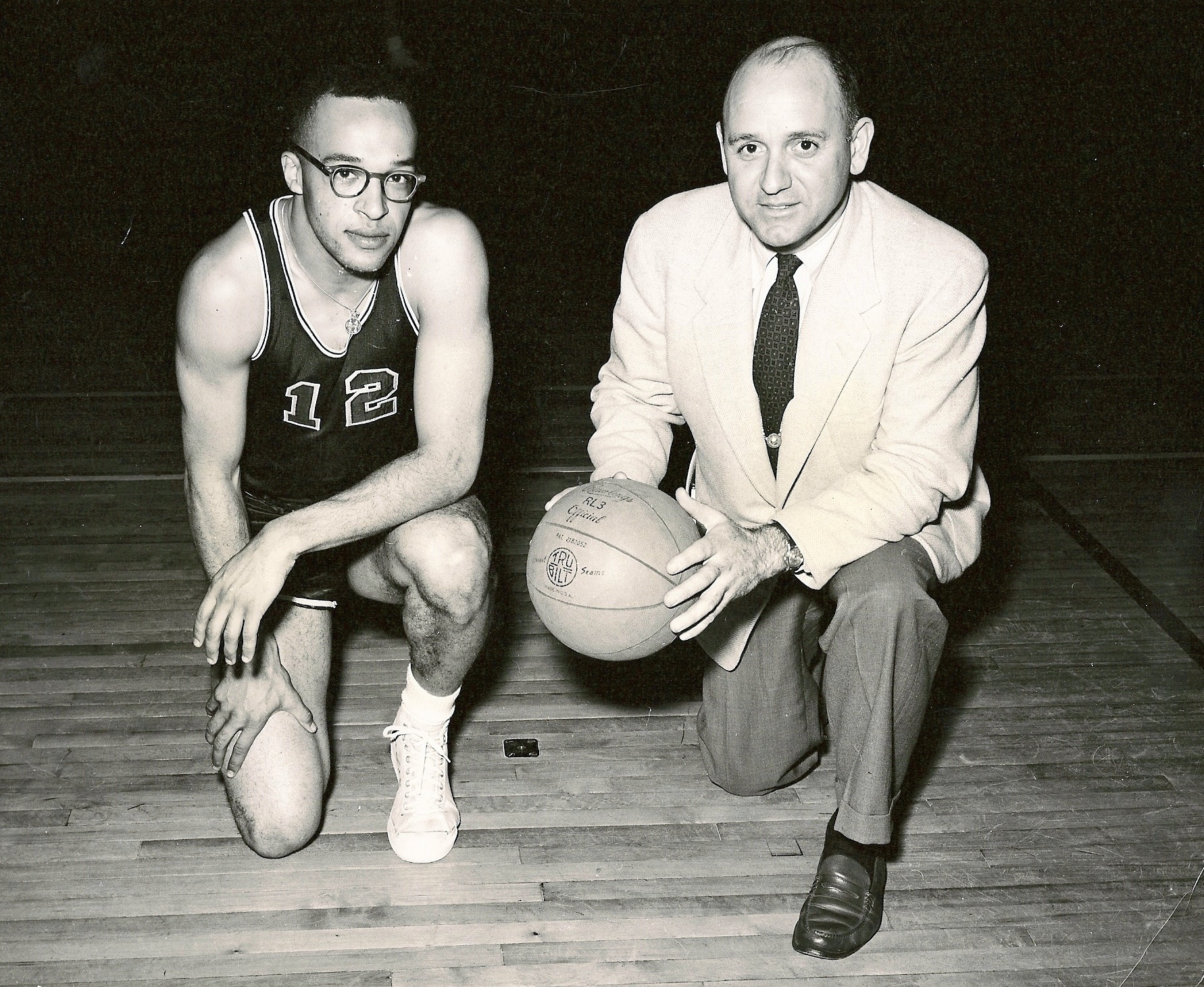Of the many talented players who played for Tony Lupien (right), Sonny Dennis (left) was among the best.