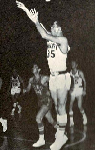 Peter Roby and his picture-perfect jump shot spent too much time on the bench in foul trouble. Roby led the country in fouls per game, depriving the camera, and his teammates, of more shots like this one.
