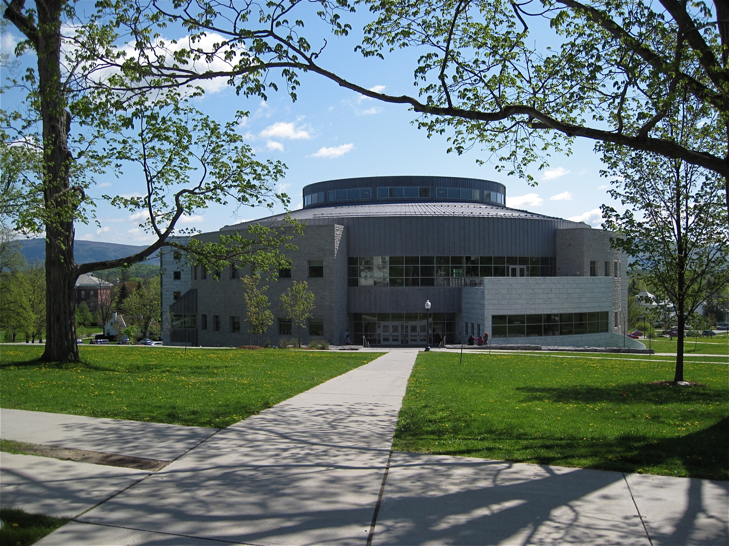 MIddlebury_VT_-_College_Library