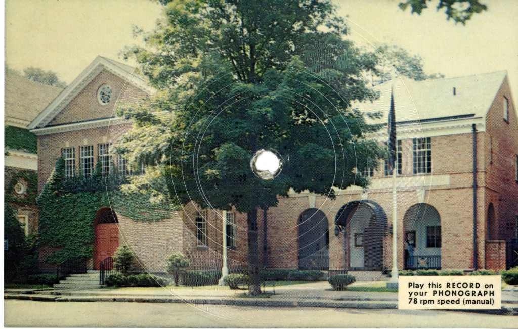 "Baseball Hall of Fame ""record"" post card."