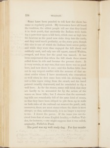 Page from first edition of Henry David Thoreau's Walden, with his notes, acquired by Viola White