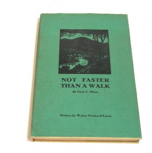Viola White's novel, Not Faster Than a Walk, 1939