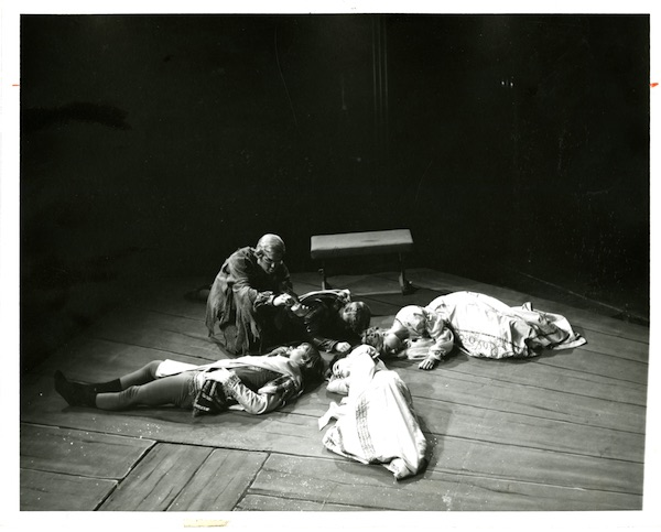 Middlebury's 1971 production of A Midsummer Night's Dream