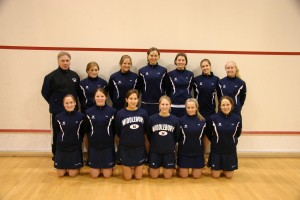 The Women's Squash team from 2006.  (Middlebury College Athletics, Communications Office, 2006)