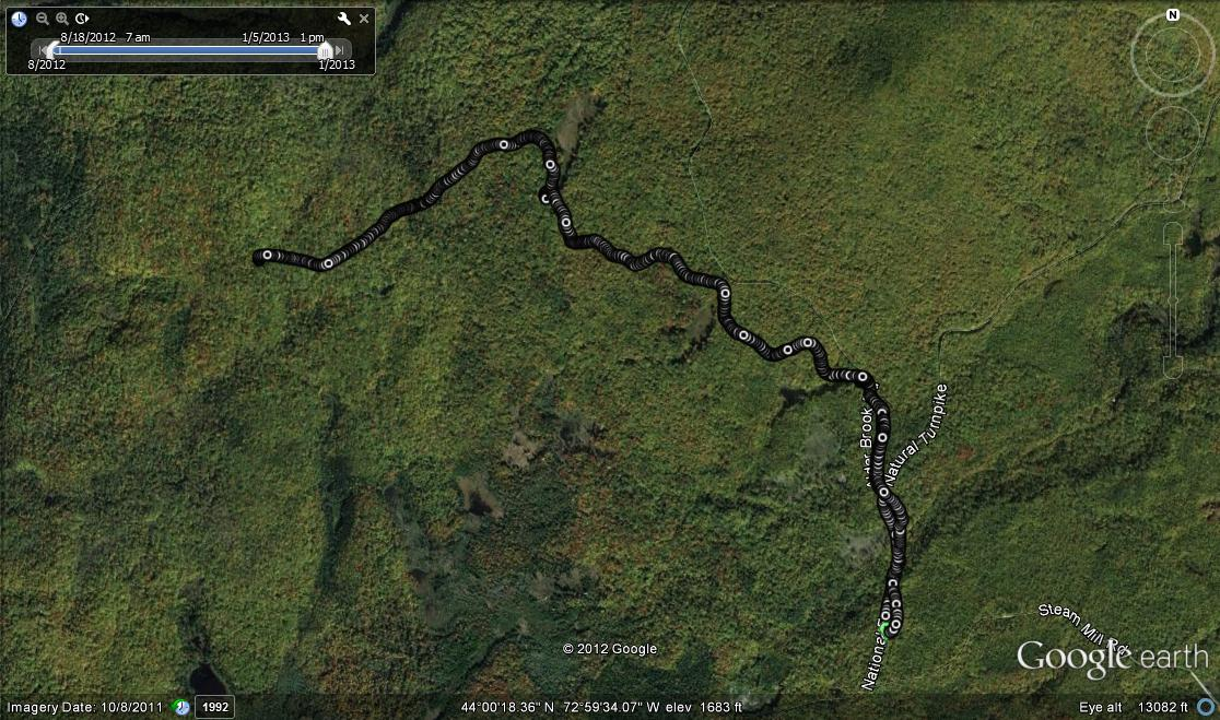 Google Earth Snowshoe
