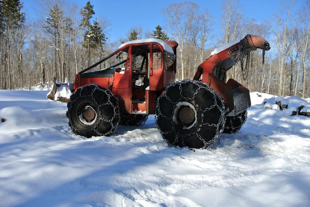 Logging Vehicle