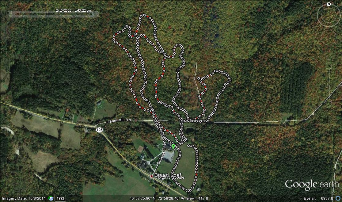 tormondsen trail google earth