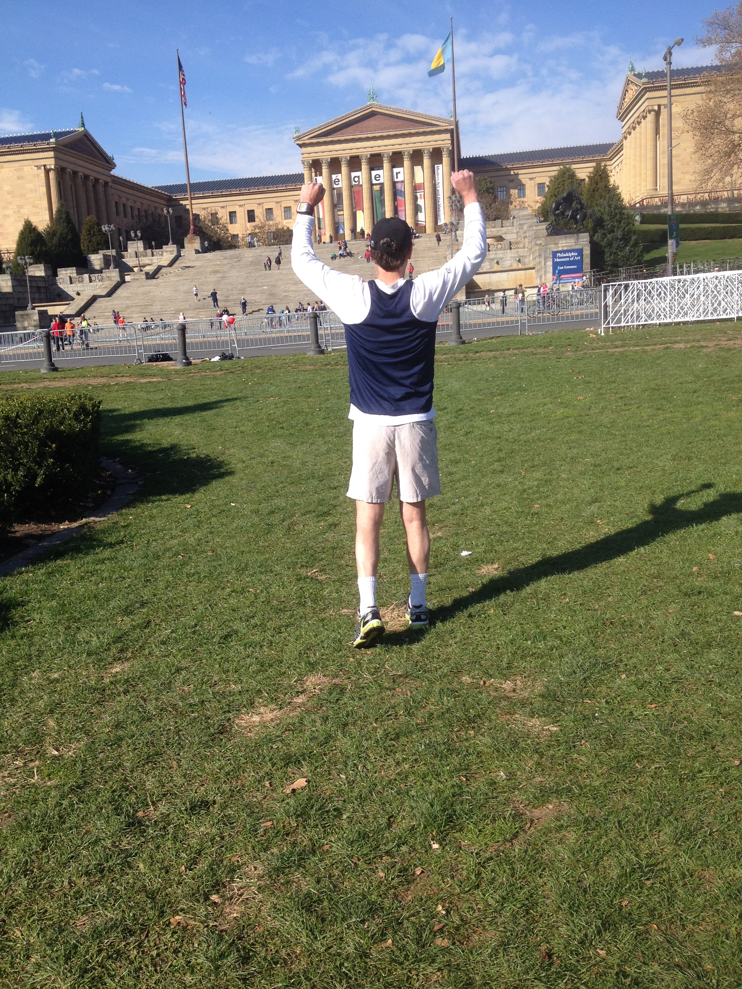 At the Rocky Steps
