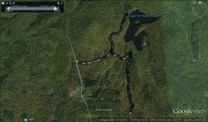 Google Earth of the Ski