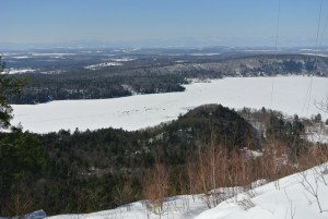 Lake Dunmore Ice
