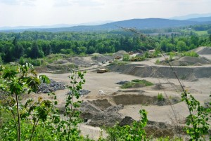Gravel Pit View