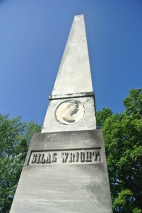 Silas Wright Monument