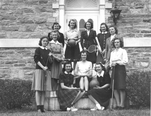 1941-1942 Womens heads of Sports