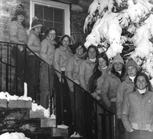 The 1974 Women's Ski Team