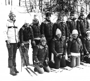 The 1979 Women's Ski Team - National Champions!