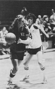 Women's Basketball 1981- Middlebury in white